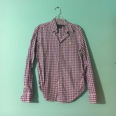 Ralph Lauren Button Down Sport Shirt - Womens Only Worn a few times Ralph Lauren Tops Button Down Shirts