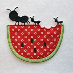 Watermelon Patch Watermelon Applique Embroidered Watermelon  CLICK and save 10% now with coupon code PINTEREST10