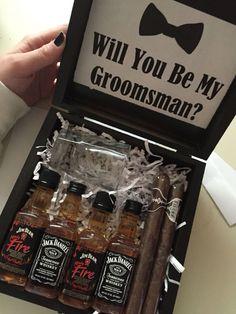 Wedding party invites groomsmen groomsman gifts ideas for 2019 Groom And Groomsmen, Asking Groomsmen, Groomsmen Boxes, Best Groomsmen Gifts, Be My Groomsman, Groomsmen Proposal, Bridesmaid Proposal, Groomsman Gifts, Wedding Bridesmaids