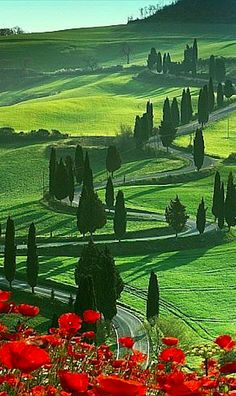 Beautiful Montichiello, Tuscany, Italy • photo: Angelo Cavalli