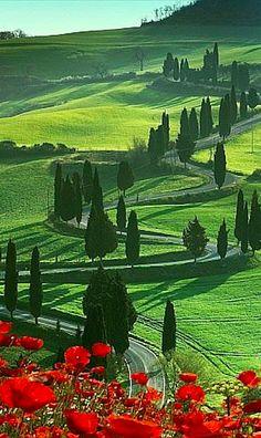 Beautiful Montichiello, Tuscany, Italy • photo: Angelo Cavalli