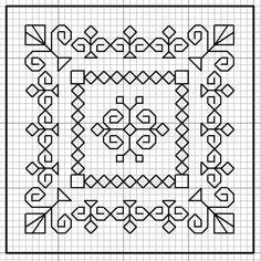Cross Stitch Borders, Cross Stitch Designs, Cross Stitching, Cross Stitch Patterns, Kasuti Embroidery, Cross Stitch Embroidery, Embroidery Patterns, Graph Paper Drawings, Graph Paper Art