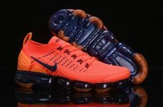 57834e154dbbc Delicate Nike Air VaporMax Flyknit 2 Team Red Obsidian 942842 106 Women s Men s  Running Shoes Adidas
