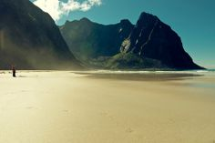 The most beautiful beaches on Earth Islands, Nordland, Lofoten, Norway Beach, Holidays In Norway, Norway Viking, Beautiful Norway, Norway Travel, Stavanger, Travel Around The World, The Great Outdoors