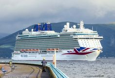 Before making its final stop in Guernsey, Britannia will arrive at ports in Liverpool, Dublin and Cork, and cruise past South Cornwall