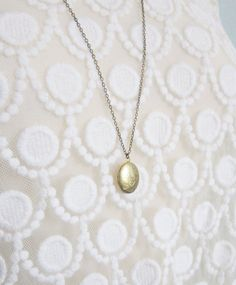 Locket layering necklace 30 inches modern by LemonSweetJewelry, $20.00