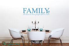 Family All Because Two People Fell In Love Quote by thestickerhut, $18.99