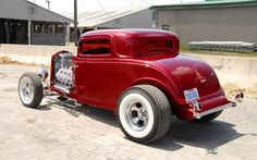 rat rod school bus   Keith Shand 1932 Ford coupe Street Rodder Syracuse Top 100 Photo