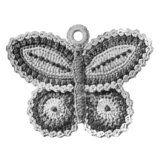 Free butterfly potholder pattern - learn how to crochet a potholder that looks like a butterfly.