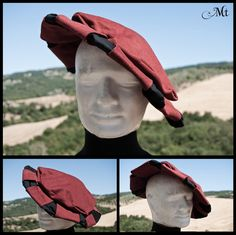 starfish hat by MurielTailorcraft