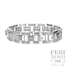 Global Wealth Trade Corporation - FERI Designer Lines White Gold Diamond Bracelet, White Gold Diamonds, Diamond Jewelry, Shop Till You Drop, Cute Jewelry, Girls Best Friend, Great Gifts, Jewels, Bracelets