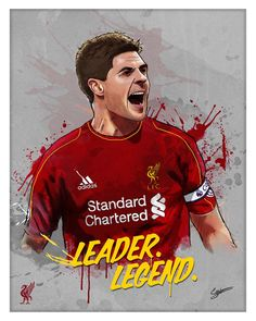 Steven Gerrard Digital Painting