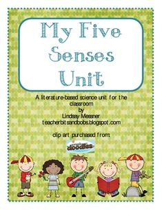 This Five Senses Unit is sure to be a favorite of teachers and students alike.  Included in this unit is: daily hands-on activities for each of the...