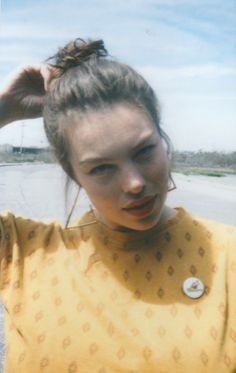 bingbangnyc:  Polaroid outtake of the STUNNING Georgia Pratt shot & by our newest (crazy clever) collaborator Zara Mirkin.Can't wait to show you guys the full shoot and introduce you to more #BingBangBabes from NYC and around the world thru Zara's impeccable lens.*Spoiler alert - those KILLER Bing Bang oversized triangle hoops are from the upcoming FW15 collection - available online in July.