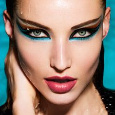 A dramatic look by MAKE UP FOR EVER