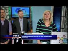 """Detroit Wallpaper Company was featured on Fox 2 Detroit's morning segment called """"Made in Michigan""""."""