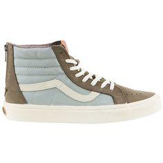 7182df611f8b4a Vans Classics Sk8-Hi Zip Mens Shoes