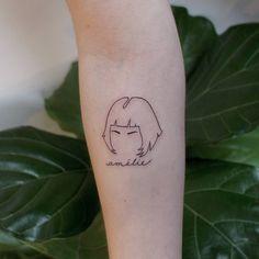 #outline #tattoo #amelie