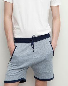 STRIPED BERMUDA JOGGING SHORTS                                   - JOGGERS - MAN - PULL&BEAR Albania