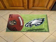 "NFL - Philadelphia Eagles Scraper Mat 19""x30"" - Ball"