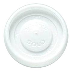 Solo VL34R-0007 4 oz White Plastic Travel Lid 100 / Pack
