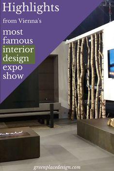 Highlights to remember from Vienna's most famous interior design expo show Wohnen und Interieur 2017 Cool Furniture, Furniture Ideas, Furniture Design, Source Of Inspiration, Furniture Inspiration, Design Show, Vienna, Austria, Craftsman