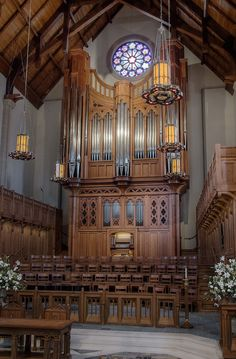 C.B. Fisk Inc. Opus 134 pipe organ at Covenant Presbyterian Church, Nashville, TN.