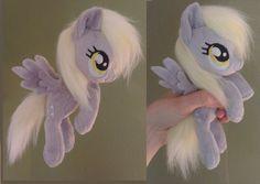 Derpy hovering / flying mini plush *For sale* by Epicrainbowcrafts.deviantart.com on @deviantART