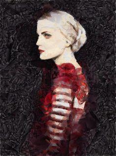 our lady of darkness by DancerOfTime.deviantart.com on @DeviantArt