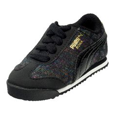PUMA ROMA GLEAM (INFANTS) now available at Foot Locker Foot Locker, Infants, Lockers, Sneakers, Kids, Shoes, Fashion, Young Children, Tennis