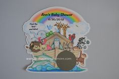 Unique Personalized Noah's Ark Theme Birthday by PARTYGAMESANDMORE