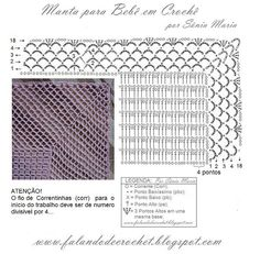beautiful lacy border for baby blanket