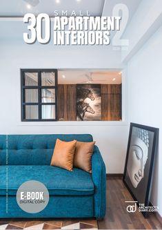 30 small apartment interiors -E-book -Vol-2 Small Apartment Interior, Apartment Design, Cool Apartments, Design Firms, Design Inspiration, Sofa, Interiors, Furniture, Home Decor