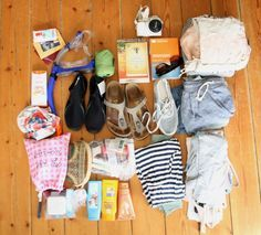 Meine Backpack-Packliste für Fernreisen wie Thailand oder Sansibar - 12 kg für 2 Wochen! Das geht, ohne großartig zu verzichten: http://ferndurst.de/backpack-packliste-fernreise-tropen-thailand/