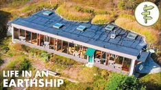 Engineer Living in a Beautiful Earthship Shares Valuable Insight! Sustainable Architecture, Residential Architecture, Contemporary Architecture, Earthship Biotecture, Earthship Home, Building Green Homes, Earth Sheltered Homes, 100 Acre Wood, Green Home Decor
