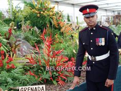 Grenadian-born, Private Johnson Gideon Beharry, of the 1st. Battalion, Princes of Wales Royal Regiment, the last recipient of the Victoria Cross. http://www.belgrafix.com/gtoday/2006news/Jun/Jun03/Beharry-honoured-Chelsea-Flower-Show.htm