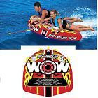 Wow Watersports 11-1070 Big Thriller Water Tube 1-2 Person Inflatable Towable