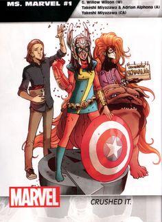 Ms. Marvel #1 - Takeshi Miyazawa