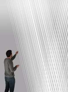 Fuorisalone 2013 Milano: l'installazione interattiva Trama da Replay #MDW2013 #replay #installation #design