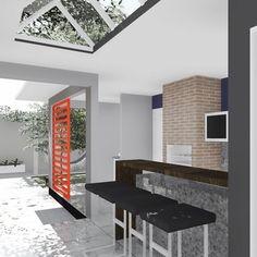 Projeto Arquitetônico de Reforma -  Casa V+N , Aparecida de Goiânia-Go. #issoéFORS #Fors #Ideias #Arquitetura