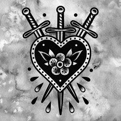 45 meaningful little finger tattoo ideas every woman wants t Tattoo Old School, Old School Tattoo Designs, Heart Tattoo Designs, Old Tattoos, Body Art Tattoos, Sleeve Tattoos, Tatoos, Tattoo Sketches, Tattoo Drawings