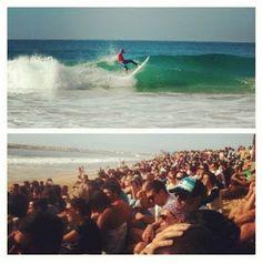 Watching Kelly Slater surfing! WorldWide Traveler: PENICHE, Rip Curl Pro 2012