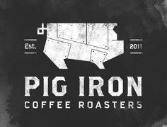 pig iron coffee roaster