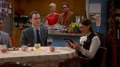 Season 8, Episode 11, The Big Bang Theory-Sheldon and Amy exchange Christmas gifts, and he's touched by her gift.