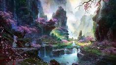 chinese scenery digital paintings - Ecosia