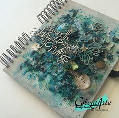 Beautiful art journal cover