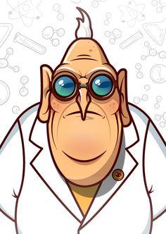 Dr.Nefario by Daniil Kardapoltsev, via Behance