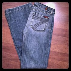 """7 for all mankind premium denim """"7"""" pocket, 7 for all mankind premium denim, boot cut. 7 for all Mankind Pants Boot Cut & Flare"""