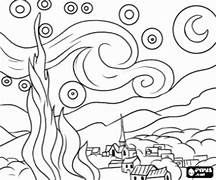 La Notte Stellata Disegno Da Colorare Risultati Yahoo Italia Della Ricerca Di Immagini Notte Stellata Arte Di Van Gogh Disegni Da Colorare