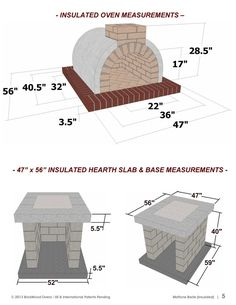 Pizza Oven Plans How to Build a Pizza Oven Americas image 2 Stone Pizza Oven, Build A Pizza Oven, Pizza Oven Kits, Wood Fired Pizza Ovens, Brick Oven Outdoor, Pizza Oven Outdoor, Outdoor Kitchen Bars, Outdoor Kitchens, Oven Diy